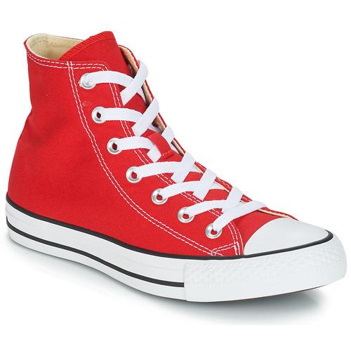 Converse CHUCK TAYLOR ALL STAR CORE HI Rosso - Scarpe Sneakers ...