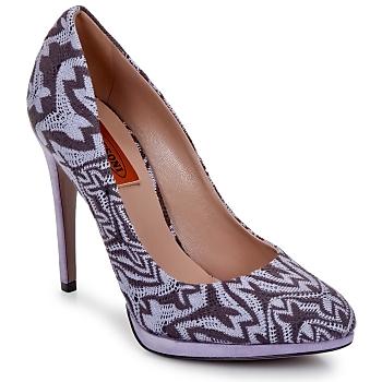 Schuhe Damen Pumps Missoni SM113 Beige