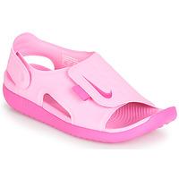Scarpe Bambina Sandali Nike SUNRAY ADJUST 5 Rosa